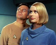 Star Trek Gary Lockwood Sally Kellerman Where No Man Has Gone Before 8x10 photo