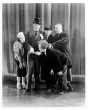 The Three Stooges comical scene looking at letter 8x10 photo