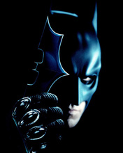 Christian Bale very cool portrait as Batman 8x10 photo