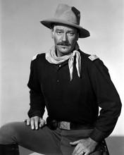John Wayne studio portrai tin uniform She Wore A Yellow Ribbon 8x10 photo