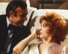 Diamonds Are Forever Sean Connery Jill St. John on sofa 8x10 photo
