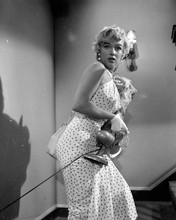 Marilyn Monroe sexy walking up staircase Seven Year Itch 8x10 photo