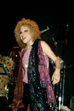 Bette Midler smiling in concert on stage circa 1970's 8x10 photo