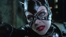 Michelle Pfeiffer close-up wearing her outfit as Catwoman 8x10 photo