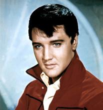 Elvis Presley early 1960's studio portrait in red jacket 8x10 photo