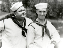 Laurel and Hardy Stan & Ollie in sailor outfits Men O'War 8x10 photo