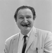 The Munsters rare 1964 studio portrait Al Lewis with cigar not as Grandpa 8x10