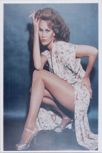 Karen Black leggy pose holding cigarette 1970's 8x10 photo