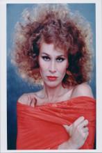 Karen Black studio portrait with bare shoulders circa 1980 8x10 photo