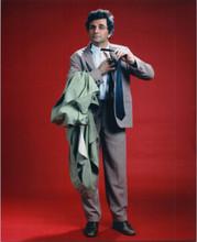 Peter Falk as Columbo full length studio portrait in classic suit 8x10 photo