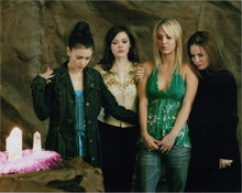 Charmed TV series Alyssa Milano Holly Marie Combs and cast 8x10 photo