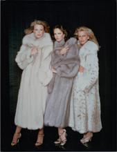 Charlie's Angels TV Shelley Hack Jaclyn Smith Cheryl Ladd in fur coats 8x10