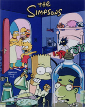 The Simpsons TV series promotional artwork Bart experiments in lab 8x10 photo