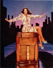 Donna Summer 8x10 publicity photo for her single On The Radio leggy pose