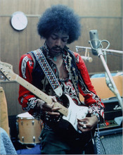 Jimi Hendrix iconic 8x10 press photo in concert pose playing his guitar