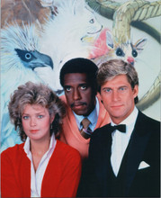 Manimal 1983 TV series Simon MacCorkindale Melody Anderson Michael Roberts 8x10