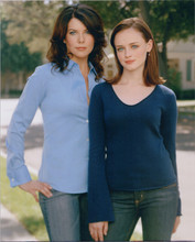 Gilmore Girls 8x10 publicity photo Alexis Bledel Lauren Graham
