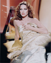 Pamela Hsnley covers herself with gold sheet 8x10 photo Buck Rogers in 25th Cent