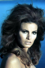 Raquel Welch looks to side circa 1967 glamour pose 4x6 inch photo