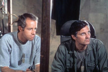 M.A.S.H TV series Alan Alda Mike Farrell in scene 4x6 inch photo