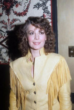 Natalie Wood circa 1970's wears western fringed jacket 4x6 inch photo