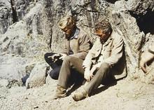 Butch Cassidy & The Sundance Kid classic cliff jump scene Newman Redford 5x7
