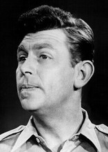 Andy Griffith 5x7 inch real photo as Sheriff Andy Griffith Show 5x7 inch photo