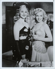 Marilyn Monroe Adele Jergens as sexy showgirls Ladies of The Chorus 8x10 photo