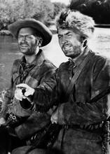 Davy Crockett Buddy Ebsen Fess Parker 5x7 inch real photo