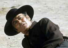 Henry Fonda looks upwards Once Upon A Time in the West 5x7 inch photo