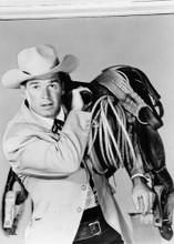 James Garner carries saddle over shoulder 1957 Maverick TV series 5x7 photo