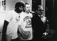 Pulp Fiction 5x7 inch real photo Jackson Travolta & Keitel The Bonnie Situation