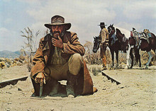 Once Upon A Time in the West Jason Robards 5x7 inch photograph