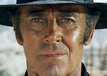 Once Upon A Time in The West Henry Fonda has mean stare 5x7 inch photograph
