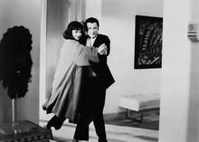 Pulp Fiction 5x7 inch real photo Uma Thurman John Travolta dance in apartment