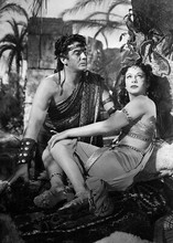Samson And Delilah Victor Mature Hedy Lamarr lovers 5x7 inch real photo