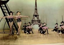 Marilyn Monroe Jane Russell Gentleman Prefer blondes showgirl dance 5x7 photo