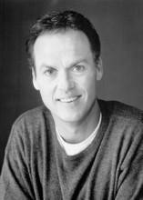 Michael Keaton smiling studio portrait 1995 Multiplicity 5x7 photo