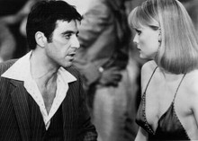 Scarface 1983 Al Pacino confronts Michelle Pfeiffer 5x7 inch photo