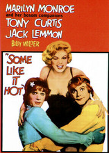 Some Like it Hot 1959 movie poster art Marilyn Monroe Lemmon & Curtis 5x7 photo