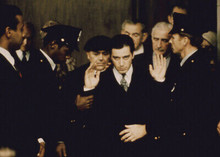 The Godfather Al Pacino surrounded by his men 5x7 inch photo