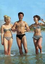 Summer Holiday Cliff Richard Una Stubbs Jackie Daryl on Greek beach 5x7 photo