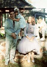 The Godfather Al Pacino Diane Keaton pose with children 5x7 inch photo