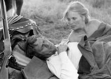 Tom Horn 1980 movie Steve McQueen beds down with Linda Evans on range 5x7 photo