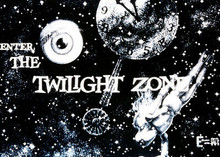 "The Twilight Zone 5x7 inch real photo ""Enter The Twilight Zone"" opening credits"
