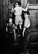 To Kill A Mockingbird Scout Jem & Dill scale wall 5x7 inch photograph