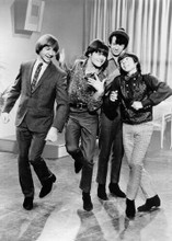 The Monkees 1966 sitcom Micky Davy Peter & Michael do a little dance 5x7 photo