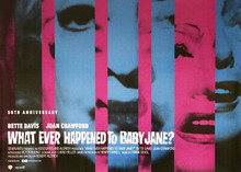 Whatever Happened To Baby Jane movie poster art David & Crawford 5x7 photograph