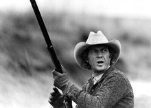 Tom Horn 1980 movie Steve McQueen tough guy with rifle 5x7 inch real photo