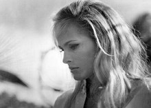Ursula Andress beautiful pose partly in profile 1966 Once Before I Die 5x7 photo